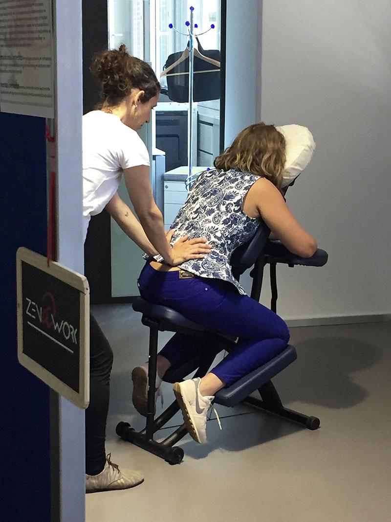 Zen at work – Massage amma au bureau