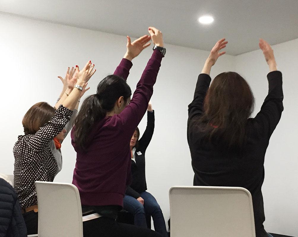 Zen at work – Yoga au bureau
