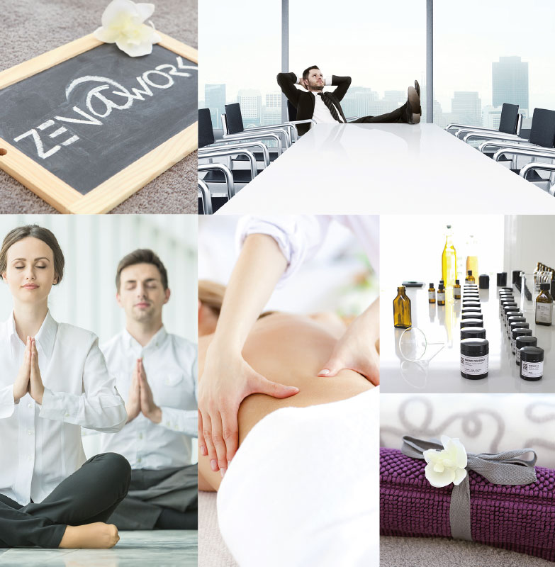 Zen at work – Flyer
